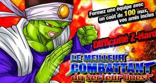 Dragon Ball Z Dokkan Battle : Le Meilleur Combattant du Secteur Ouest