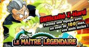 Dragon Ball Z Dokkan Battle : Le Maître Légendaire