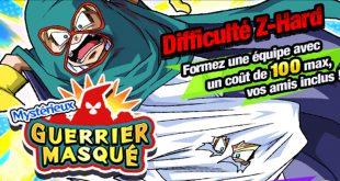 Dragon Ball Z Dokkan Battle : Mystérieux Guerrier Masqué