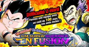 Dragon Ball Z Dokkan Battle : Un Super Guerrier en Fusion
