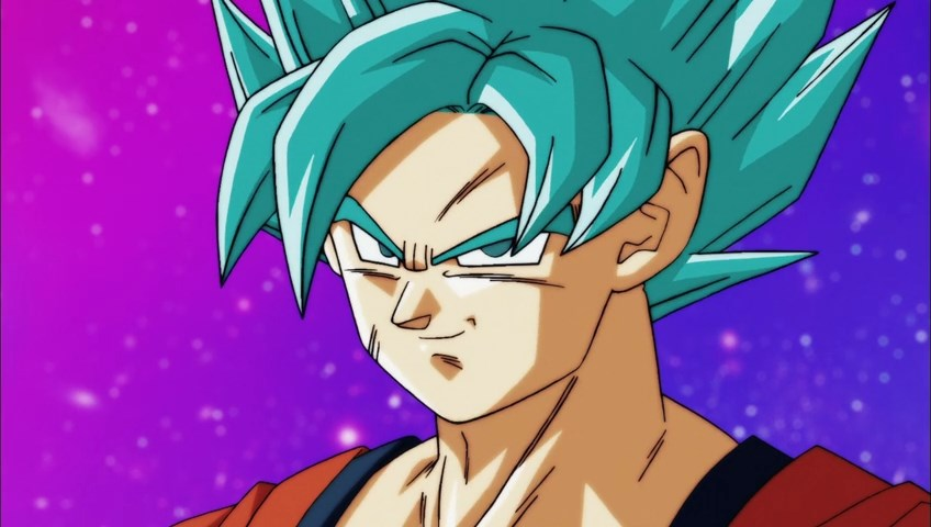 Dragon Ball Super : Gokû VS Toppo
