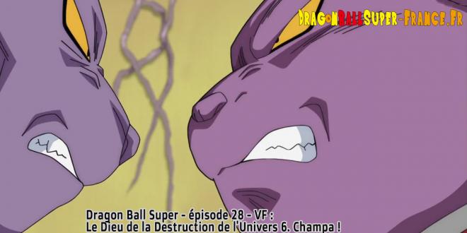 Dragon Ball Super Épisode 28 : Diffusion française