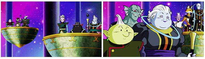 Dragon Ball Super : Kaioshin Oguma, Iru, Agu