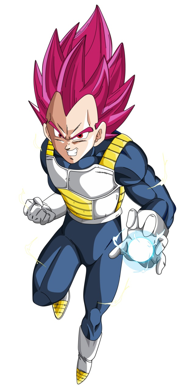 Dragon Ball Super : Vegeta SSG - SSJG - SSJ God