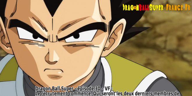 Dragon Ball Super Épisode 30 : Diffusion française