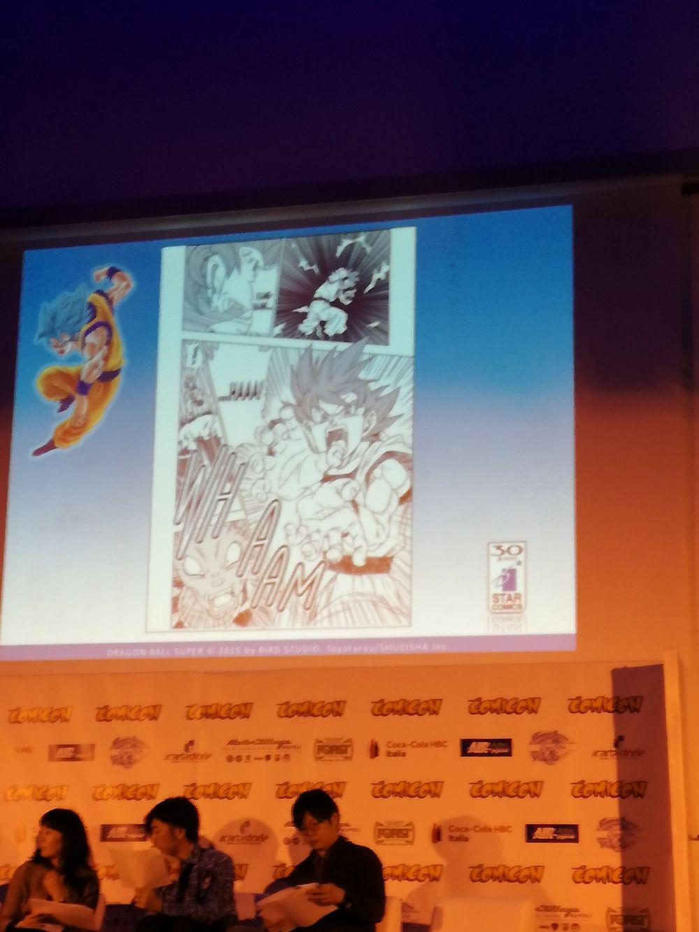 Dragon Ball Super Interview De Toyotaro Au Napoli Comicon