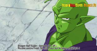 Dragon Ball Super Épisode 34 : Diffusion française