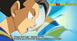 Dragon Ball Super Épisode 37 : Diffusion française