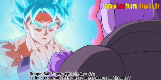 Dragon Ball Super Épisode 40 : Diffusion française