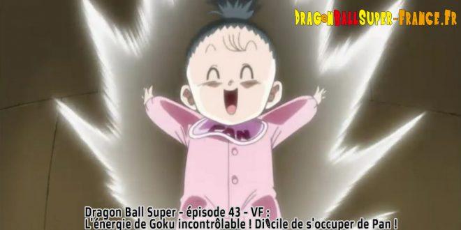 Dragon Ball Super Épisode 43 : Diffusion française