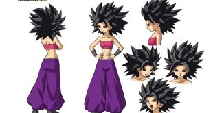 Dragon Ball Super : Nouveaux artworks et biographie de Caulifla