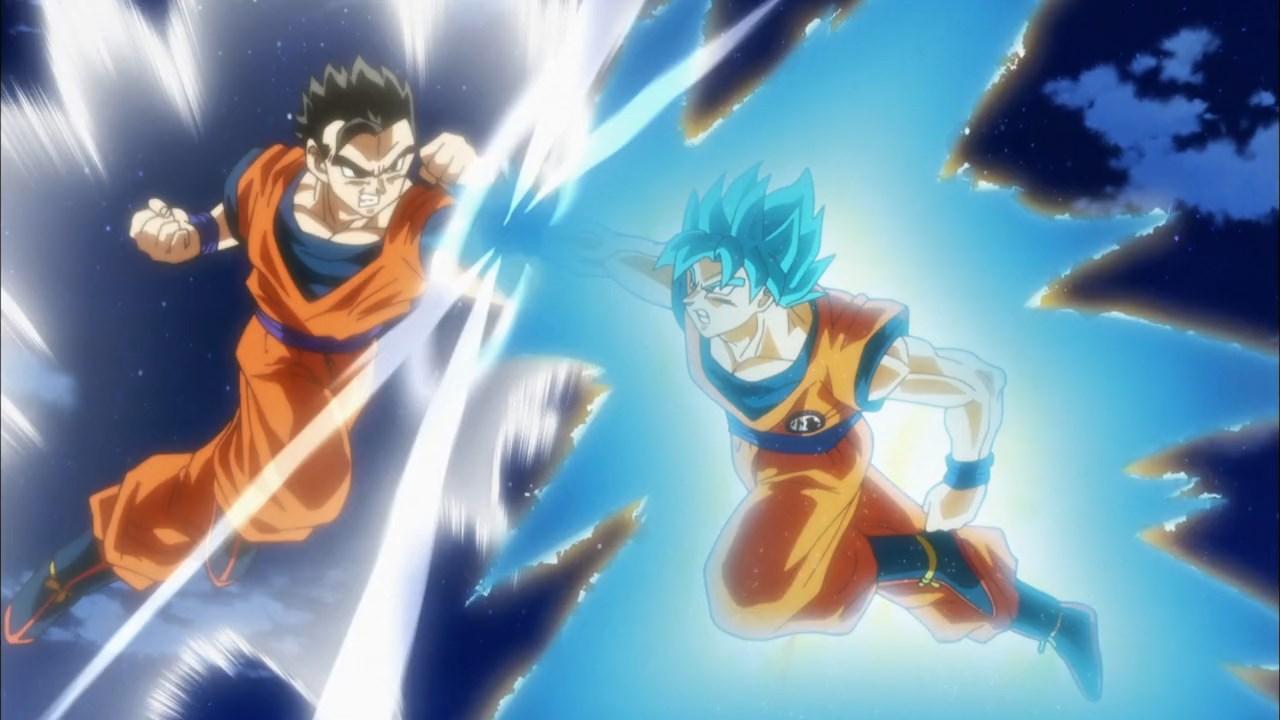 Dragon Ball Super : Gohan Ultime Mystic VS Goku SSJ Blue