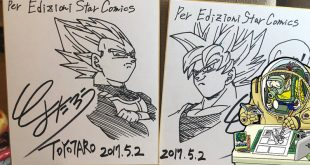 Dragon Ball Super : 3ème partie de l'interview de Toyotaro au Napoli Comicon 2017