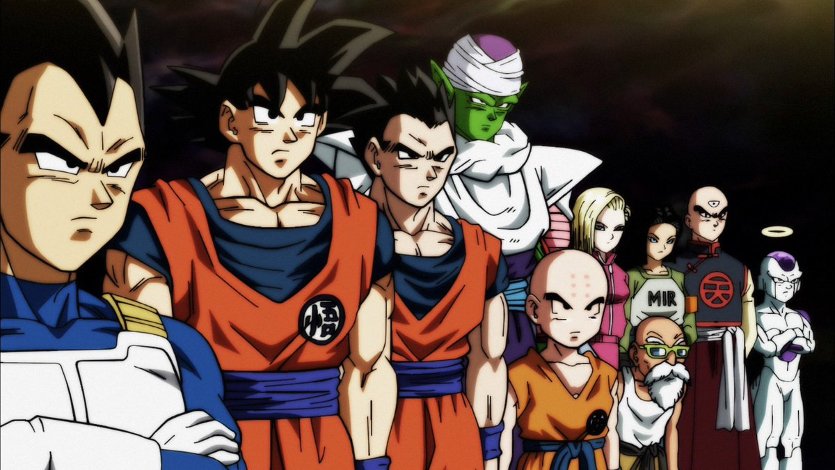 Time do Universo 7 (Dragon Ball Super - Episódio 96)
