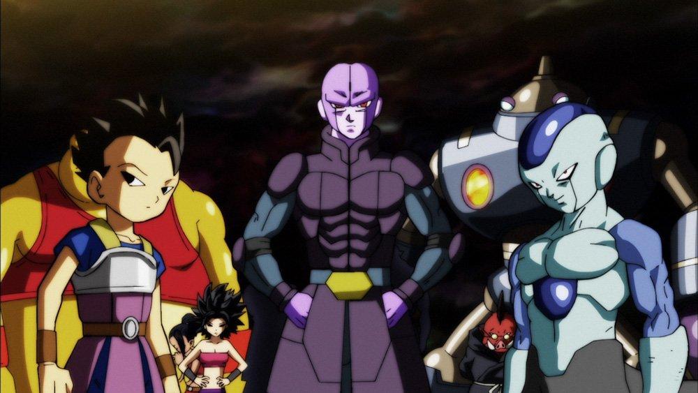 Time do Universo 6 (Dragon Ball Super - Episódio 96)
