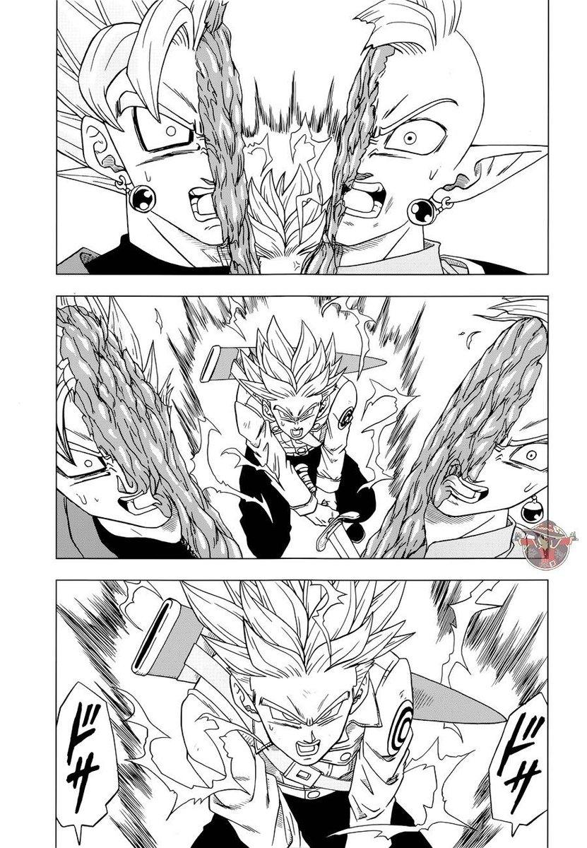 Filtran Imagenes del Manga 25 DBS Goku utiliza el Hakai?