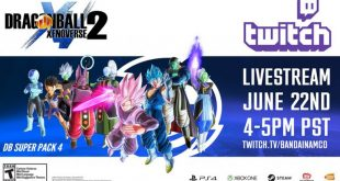 Dragon Ball Xenoverse 2 : Un LIVE pour le DLC 4 le 23 Juin