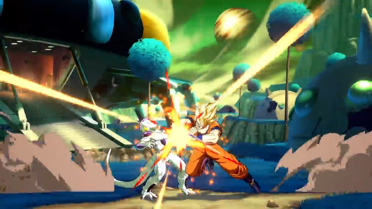 Dragon Ball FighterZ - Goku VS Freezer