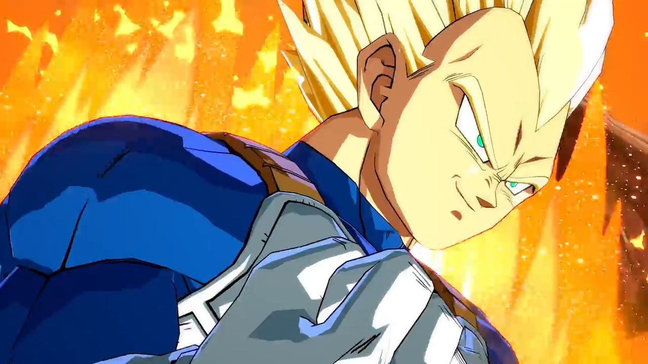 Dragon Ball FighterZ - Vegeta SSJ