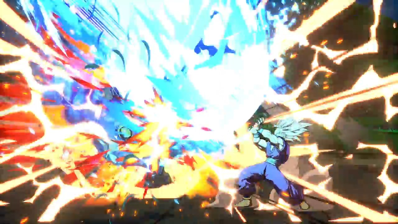 Dragon Ball FighterZ - Gohan SSJ2 vs Cell