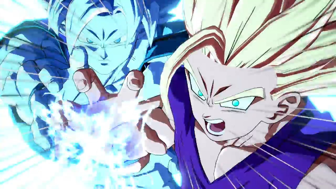 Dragon Ball FighterZ - Goku Gohan Kamehameha père fils