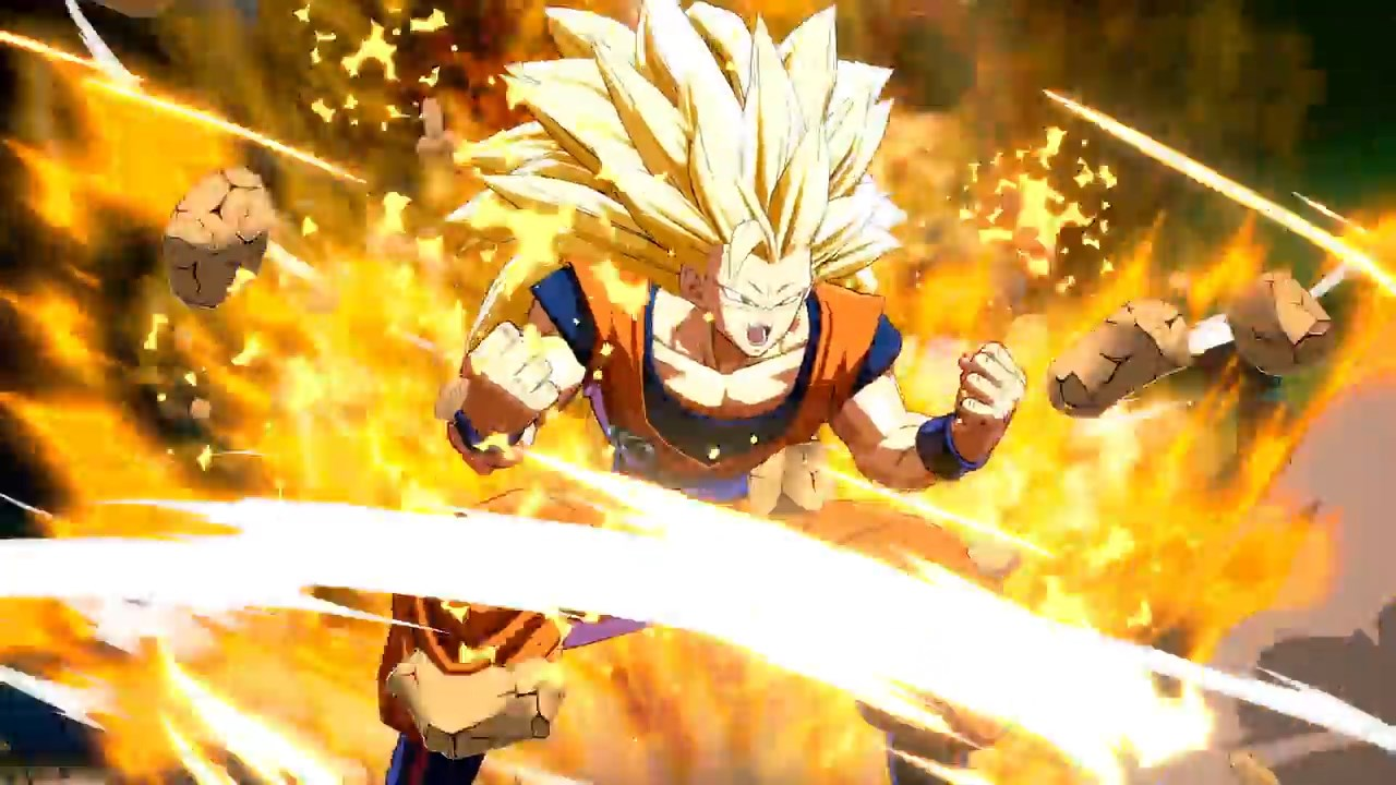 Dragon Ball FighterZ - Gokû SSJ3