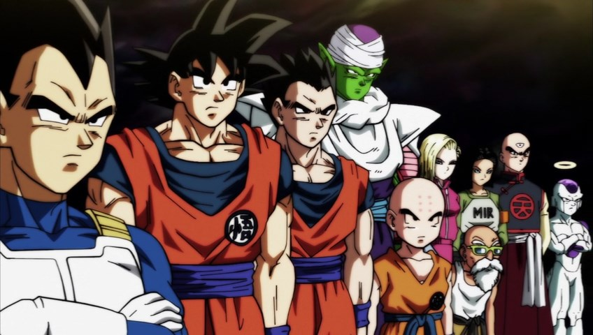 Dragon Ball Super : Team Univers 7