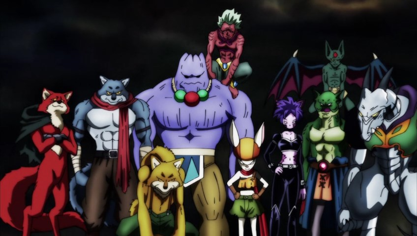 Dragon Ball Super : Team Univers 9