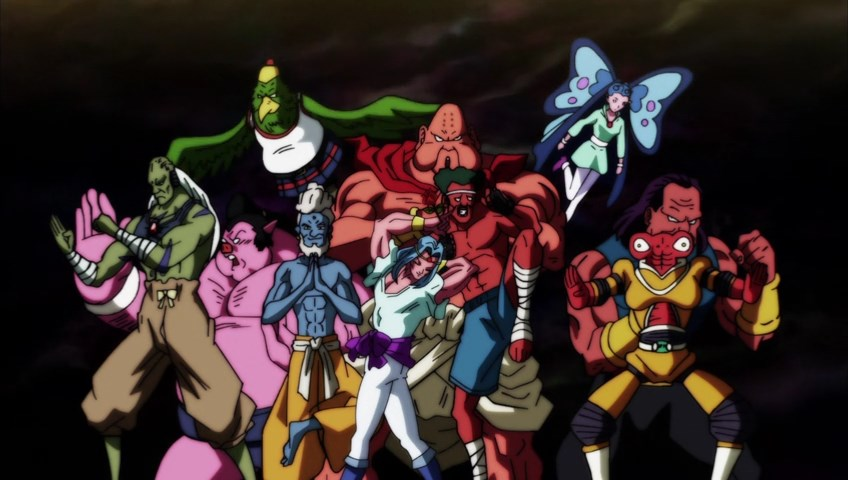 Dragon Ball Super : Team Univers 10