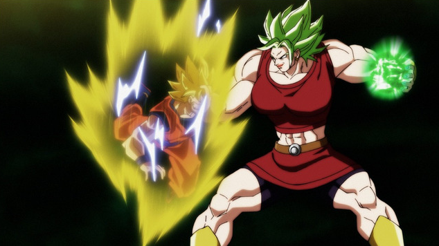 Goku Vs. Kale (Dragon Ball Super - Episódio 100)