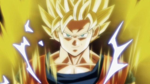 Goku SSJ 2 (Dragon Ball Super - Episódio 100)