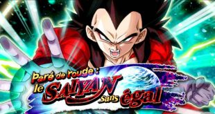 Dragon Ball Z Dokkan Battle : Paré de Rouge, le Saiyan sans égal