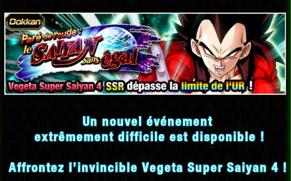 Dragon Ball Z Dokkan Battle : Paré de Rouge, le Saiyan sans égal