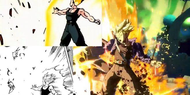 Dragon Ball FighterZ : Les références du trailer de Trunks au manga et à l'anime