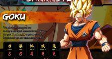 Dragon Ball FighterZ : Les statistiques des neuf personnages confirmés