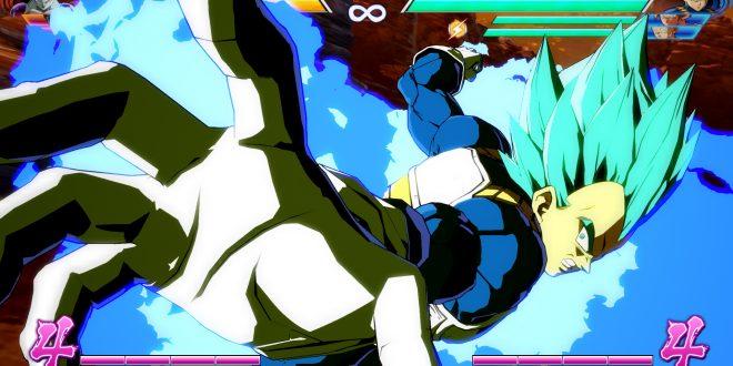 Dragon Ball FighterZ : Trailer de Gokû et Vegeta Super Saiyan Blue