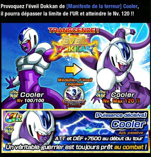 Dragon Ball Z Dokkan Battle : Transformation Ultime