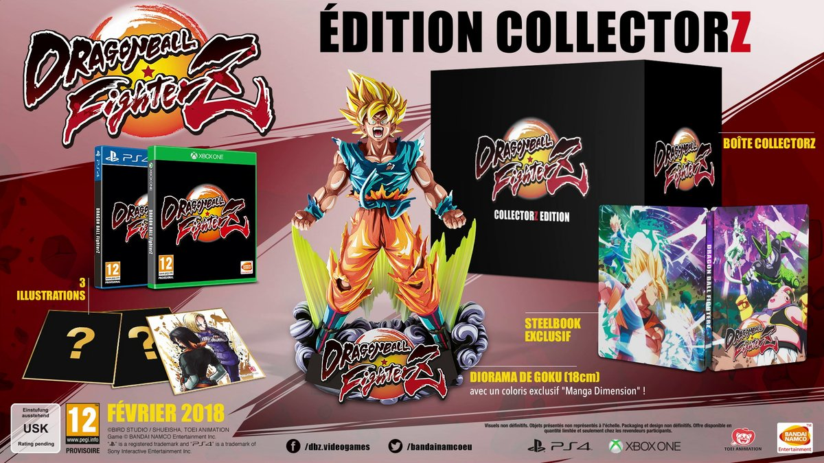 Dragon Ball FighterZ : Édition CollectorZ