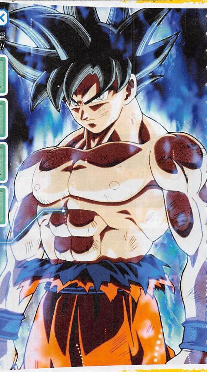 V-Jump revela a nova transformação de Goku