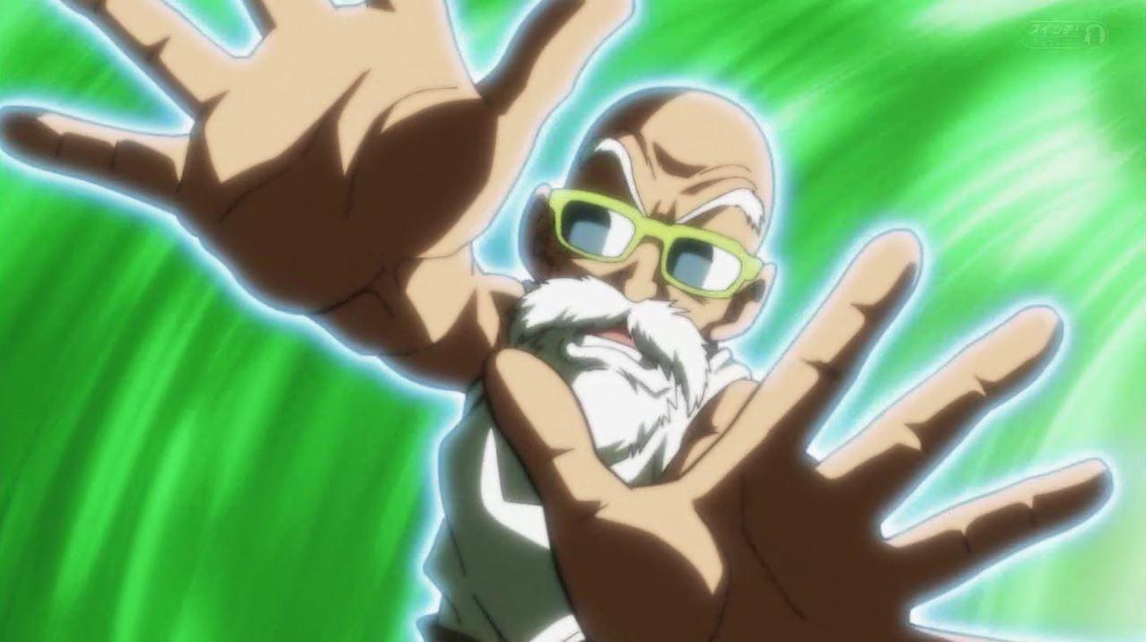 Kame-sennin vs Darkori dans Dragon Ball Super 105