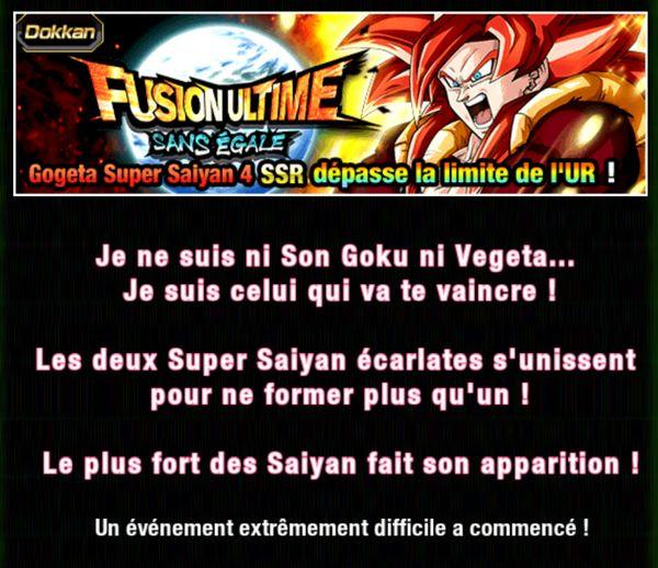 Dragon Ball Z Dokkan Battle : Fusion Ultime Sans Égale