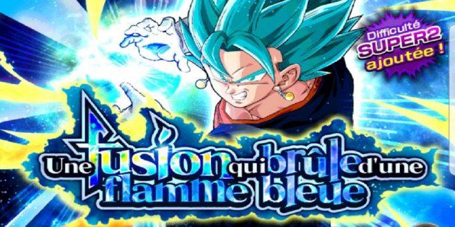 Dragon Ball Z Dokkan Battle : Une Fusion qui Brûle d'une Flamme Bleue - Vegetto Super Saiyan Blue