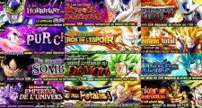 Dragon Ball Z Dokkan Battle : Event Dokkan END -Venez combattre Vegetto SSB, Gokû Black, Omega Shenron, Freezer, Kid Buu, Broly, Cooler, Gotenks SSJ3, Vegetto SSJ