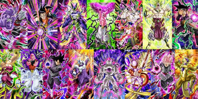 Dragon Ball Z Dokkan Battle : Tous les Dokkan du samedi - Zamasu Fusionné, Gokû Black Super Saiyan Rosé, Gokû Black, Broly, Broly SSJ3, Golden Freezer, Perfect Cell, Buuhan, Freezer 3ème Transformation, Janemba, Kid Buu, Omega Shenron