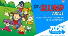 Dr Slump arrive le 15 septembre sur ADN