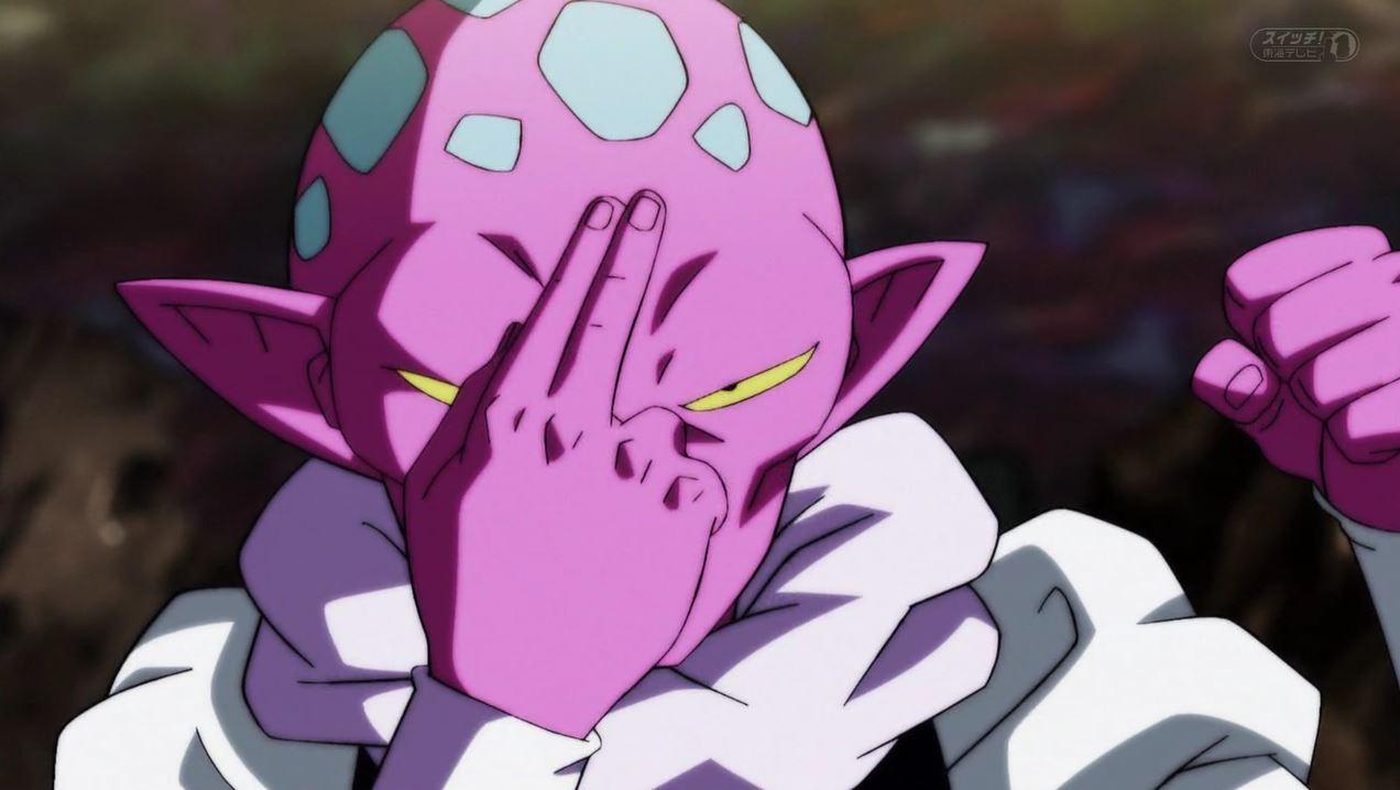 Gohan vs Jimeze dans Dragon Ball Super 108