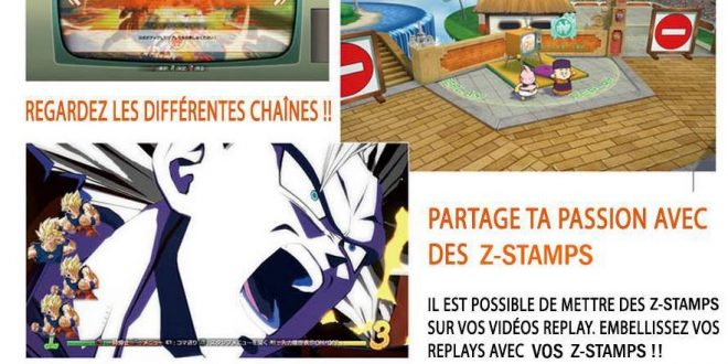 Dragon Ball FighterZ : Aperçu du mode Lobby dans le magazine Famitsu