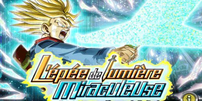 Dragon Ball Z Dokkan Battle : L'épée de Lumière Miraculeuse