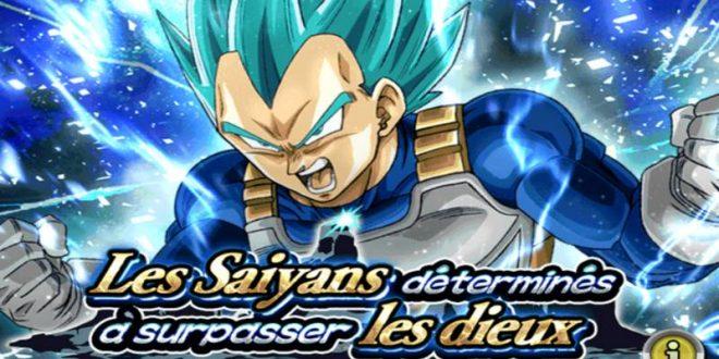 Dragon Ball Z Dokkan Battle : Les Saiyans déterminés à surpasser les Dieux