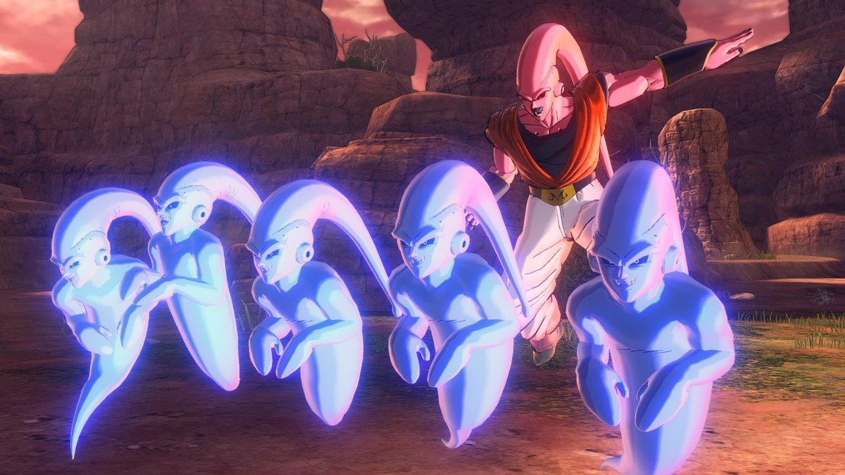 Majin Boo com Gohan absorvido em Dragon Ball Xenoverse 2